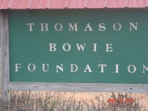 Foundation sign